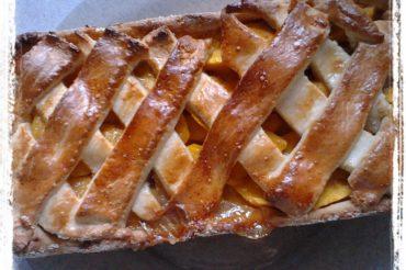 Biedronkowe kruche ciasto z mango