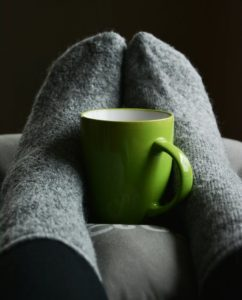 Sponsored Photos  adobestock Find the perfect image  Green Ceramic Mug on Person's Feet